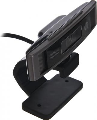 Веб-камера HP HD 5210 (LR374AA) - вид сверху