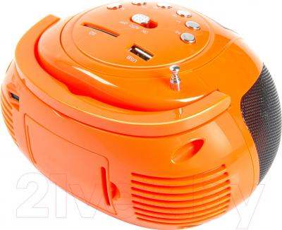 Магнитола Rolsen RBM-411 (оранжевый)
