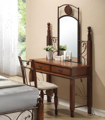 Туалетный столик с зеркалом Королевство сна DT61 (античный дуб) - общий вид