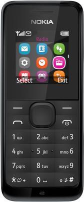 Мобильный телефон Nokia 105 (черный) -  вид спереди