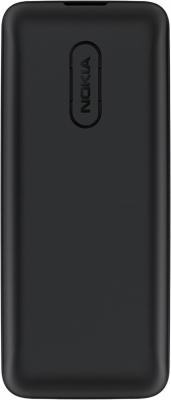Мобильный телефон Nokia 105 (черный) - вид сзади