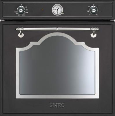 Электрический духовой шкаф Smeg SFP750AX - общий вид