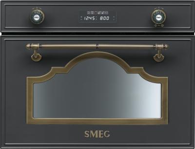 Микроволновая печь Smeg SC745MAO - общий вид
