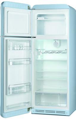 Холодильник с морозильником Smeg FAB30LAZ1 -  с открытой дверью