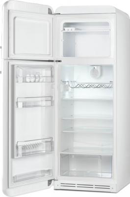 Холодильник с морозильником Smeg FAB30LB1 - с открытой дверью