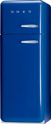 Холодильник с морозильником Smeg FAB30LBL1 - общий вид