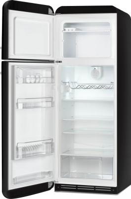 Холодильник с морозильником Smeg FAB30LNE1 - с открытой дверью