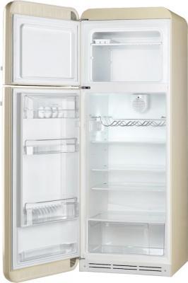 Холодильник с морозильником Smeg FAB30LP1 - с открытой дверью