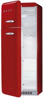 Холодильник с морозильником Smeg FAB30LR1 - с открытой дверью