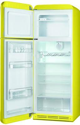 Холодильник с морозильником Smeg FAB30LVE1 - с открытой дверью