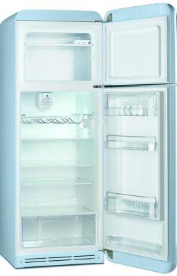 Холодильник с морозильником Smeg FAB30RAZ1 - с открытой дверью