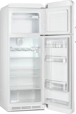 Холодильник с морозильником Smeg FAB30RB1 - с открытой дверью