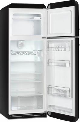 Холодильник с морозильником Smeg FAB30RNE1 - с открытой дверью