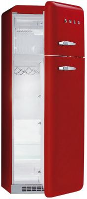 Холодильник с морозильником Smeg FAB30RR1 - с открытой дверью