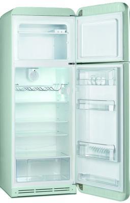 Холодильник с морозильником Smeg FAB30RV1 - с открытой дверью