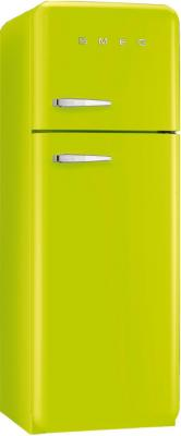 Холодильник с морозильником Smeg FAB30RVE1 - общий вид