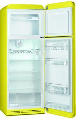 Холодильник с морозильником Smeg FAB30RVE1 - с открытой дверью