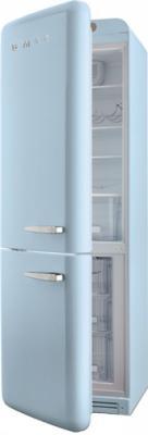 Холодильник с морозильником Smeg FAB32LAZN1 - с открытой дверью
