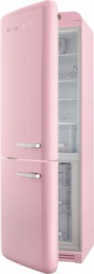 Холодильник с морозильником Smeg FAB32LRON1 - с открытой дверью