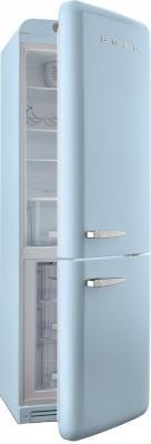 Холодильник с морозильником Smeg FAB32RAZN1 - с открытой дверью