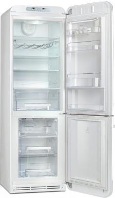 Холодильник с морозильником Smeg FAB32RBN1 - с открытой дверью