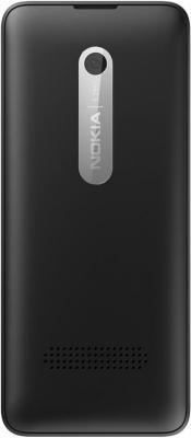 Мобильный телефон Nokia 301 Dual (Black) - вид сзади
