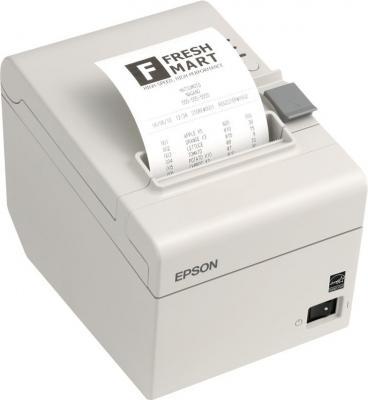 Чековый принтер Epson TM-T88V (C31CA85224) - общий вид