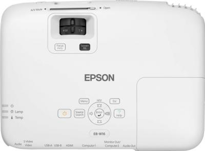 Проектор Epson EB-W16 - вид сверху