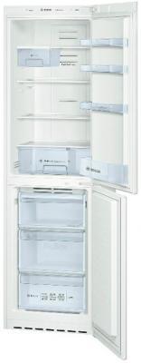 Холодильник с морозильником Bosch KGN39VW11R - с открытой дверью