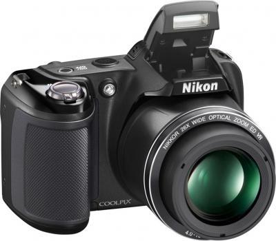 Компактный фотоаппарат Nikon Coolpix L320 (Black) - общий вид