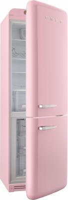Холодильник с морозильником Smeg FAB32RRON1 - с открытой дверью