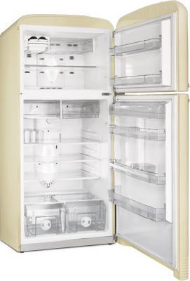 Холодильник с морозильником Smeg FAB50PO - с открытой дверью