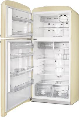 Холодильник с морозильником Smeg FAB50POS - с открытой дверью