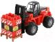 Детская игрушка Полесье Автокар Mammoet с конструктором / 62734 (в сеточке) -