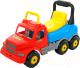 Каталка детская Полесье Буран №2 / 43801 (красно-голубой) -