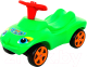 Каталка детская Полесье Мой любимый автомобиль / 44617 (зеленый) -