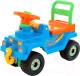 Каталка детская Полесье Джип 4х4 / 62789 (голубой) -