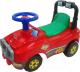 Каталка детская Полесье Джип / 62857 (красный) -