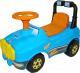 Каталка детская Полесье Джип №2 / 62871 (голубой) -