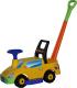 Каталка детская Полесье Пикап №2 / 63052 (желтый) -