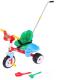 Детский велосипед с ручкой Полесье Беби Трайк / 46741 -
