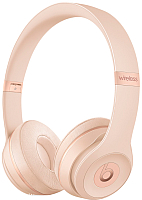 Наушники Beats Solo3 Wireless On-Ear Headphones / MR3Y2ZM/A (матовое золото) -