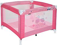 Игровой манеж Lorelli Play Pink Kitty (10080051723) -