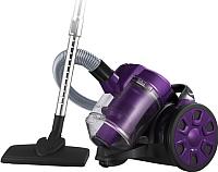 Пылесос Home Element HE-VC1802 (черный/фиолетовый) -