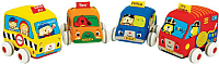 Развивающая игрушка K's Kids Машинки мягкие / KA10459 -