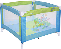 Игровой манеж Lorelli Play Beige Blue Geen Car (10080051714) -