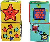 Развивающая игрушка K's Kids Кубики-пазлы / KA10622 -