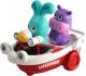 Развивающая игрушка Ouaps Спасатель Бани на катере / 61145 -