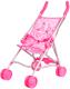Коляска для куклы Gulliver 22-11007 (розовый) -