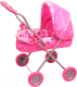 Коляска для куклы Gulliver Зимняя 22-13098 (розовый) -